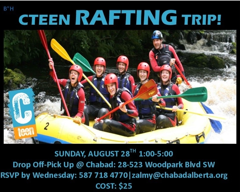 CTeen Rafting Trip